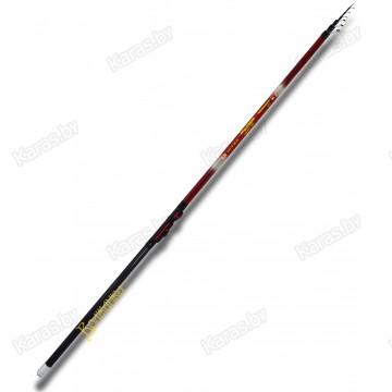 Удочка с кольцами Волжанка Модерн, 6.0 м, углеволокно, тест: до 25 г, 404 г