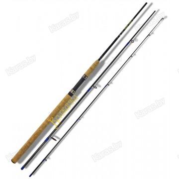 Спиннинг Волжанка Компакт, 2.7 м, углеволокно, тест: 10-35 г, 214 г