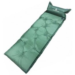 Самонадувающийся коврик Woodland Comfort Mat+, с подушкой 188x66x5 см