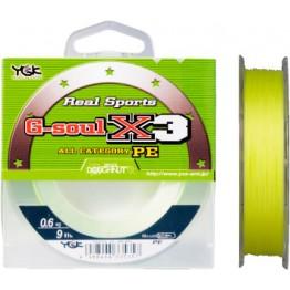 Леска плетёная YGK G-Soul PE X3 100 м