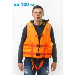 Спасательный жилет двухсторонний MedNovTex до 120 кг