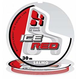 Леска монофильная зимняя Salmo Hi-Tech ICE RED 30м