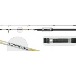 Спиннинг Surf Mastre Admiral 270, стекловолокно, штекерный, 2,7 м, тест: 30-60 гр, 260 г