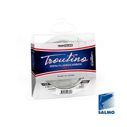 Леска монофильная Team Salmo FLUOROCARBON Troutino Soft 150м
