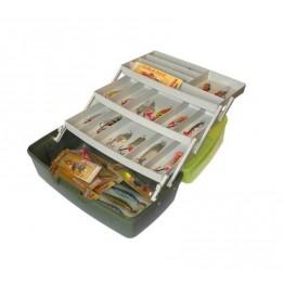Ящик рыболовный пластмассовый с полкой Aquatech® 1703