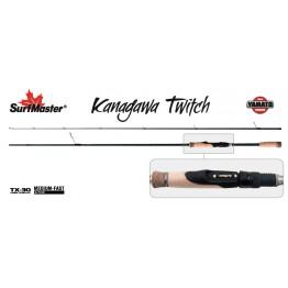 Спиннинг SURF MASTER Yamato Series Kanagawa Twitch TX-30-SM-YS5007-205, углеволокно, штеккерный, 2,05 м, тест: 3,5-11 г , 107 г