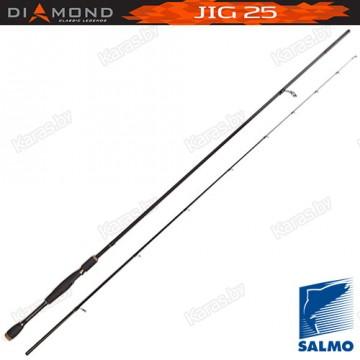 Спиннинг Salmo Diamond JIG 25, углеволокно, штекерный, 2,48 м, тест: 5-25 г, 123 г