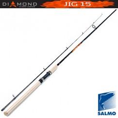 Спиннинг Salmo Diamond JIG 15, углеволокно, штекерный, 2,04 м, тест: 3-15 г, 116 г