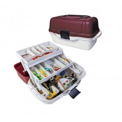 Ящик двухполочный для рыболовных приманок и принадлежностей Salmo Aquatech® 2702
