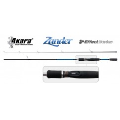 Спиннинг Akara Zander 210 Effect Series, углеволокно, штекерный, 2,1 м, тест: 10-40 гр, 120 г