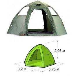 Летняя палатка-шатер Lotos Мансарда