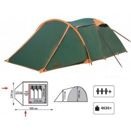 Туристическая палатка TOTEM Carriage