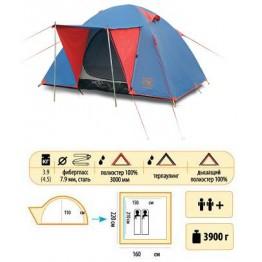 Туристическая палатка Sol Wonder 2+