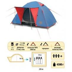 Туристическая палатка Sol Wonder 3+