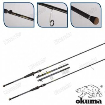Спиннинг OKUMA One Rod Spin 1.98м, графит, тест 7-20