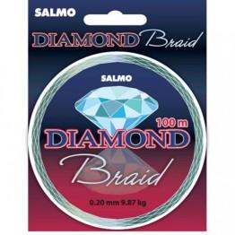 Леска плетёная Salmo Diamond Braid 100 м