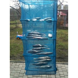 Сушилка для рыбы и грибов 45х45х120 см