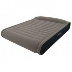 Надувная кровать с насосом Intex 67726 Deluxe Mid Rise Pillow Rest Bed 203 х 152 х 41