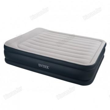Надувная кровать Intex 67736 Rising Comfort 203 x 157 x 48