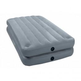 Надувная кровать-матрас Intex 67743 Queen 2-in-1 Bed 191 х 99 х 46