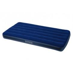 Надувной матрас Intex 68757 King Downy Royal Blue 99х191х22 см
