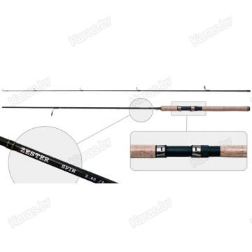 Спиннинг AKARA Zester-ZR-10-30-270, углеволокно, штеккерный, 2,7 м, тест: 10-30 гр, 200 г