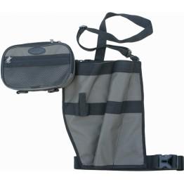Держатель для спиннинга поясной с сумкой ХСН