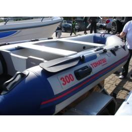 Надувная 4-5-ти местная ПВХ лодка Tohatsu ME 330