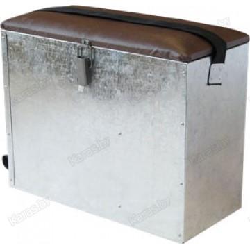 Ящик зимний оцинкован. квадратный