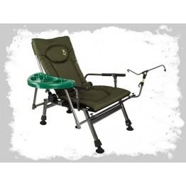 Кресло карповое складное со столиком Elektrostatyk F8R ST / P
