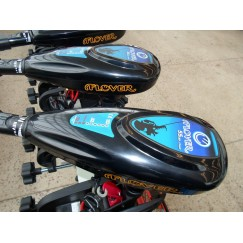 Электромотор Flover F35TG со светодиодным индикатором заряда батареи для лодок до 950 кг