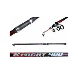 Удочка с кольцами Knight Class, 4 м, стекловолокно тест: 10-30 г , 180гр