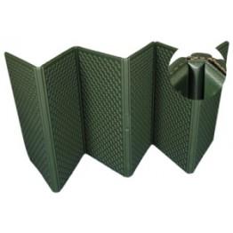 Коврик туристический складной обшитый тканью 1800x700x8 мм