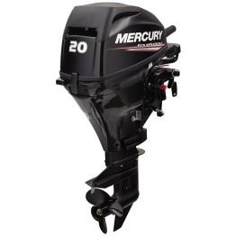 Подвесной 4-х тактный бензиновый лодочный мотор MERCURY F20ELPT (ДУ, гид/под)