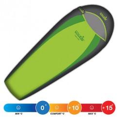 Спальный мешок NORFIN LIGHT 200 Green (+10°С)