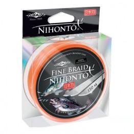 Леска плетеная Mikado Nihonto Fine Braid 100м (Оранжевый)