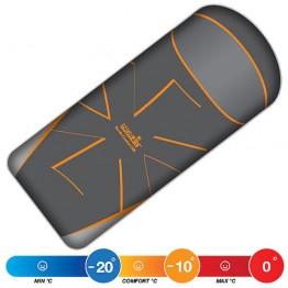 Спальный мешок NORFIN NORDIC COMFORT 500 Orange (-20°С)