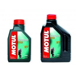 Моторное масло Motul Outboard Tech 2T -1 литр