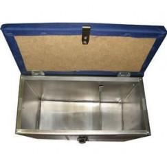 Ящик рыболовный оцинкованный для зимней рыбалки СТЭК 23 л