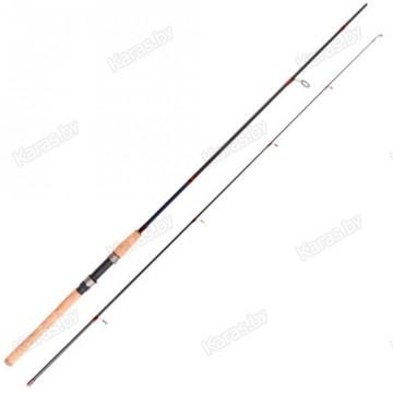 Спиннинг Samurai Shock Leader 12, углеволокно, штеккерный, 2,4 м, тест: 3-12 г, 155 г