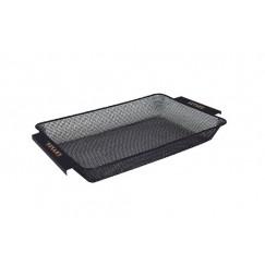 Сито рыболовное Traper прямоугольное 19х30см (сетка 2/3мм)