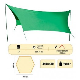 Тент Sol Tent Green (440x440 см)
