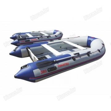 Надувная 5-6-ти местная ПВХ лодка Tohatsu ME 360