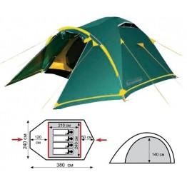 Туристическая палатка Tramp Stalker 4