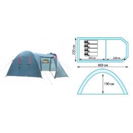 Кемпинговая 4-х местная палатка TRAMP Anaconda