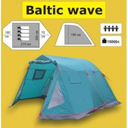 Кемпинговая 4-и местная палатка TRAMP Baltic Wave 4