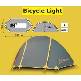 Туристическая 1 местная палатка TRAMP Bicycle Light