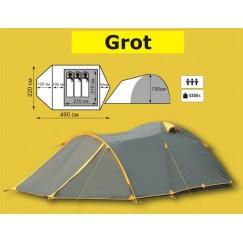 Туристическая 3-4-х местная палатка TRAMP Grot