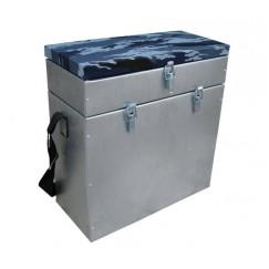 Ящик рыболовный оцинкованный для зимней рыбалки Тонар Helios 28л