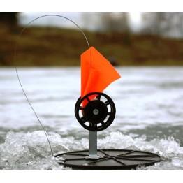 Жерлица зимняя Manko неоснащенная на диске 180 мм (катушка 63 мм)